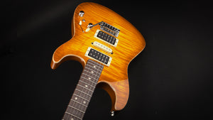Tom Anderson: Drop Top Honey Burst with Binding #01-26-19A