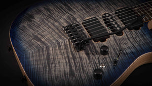 Tom Anderson Angel Natural Black to Dark Blue Burst #06-06-17P
