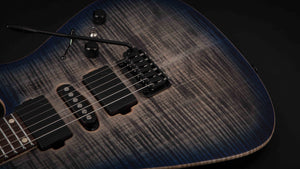 Tom Anderson Angel Natural Black to Trans Blue Burst #12-13-16A