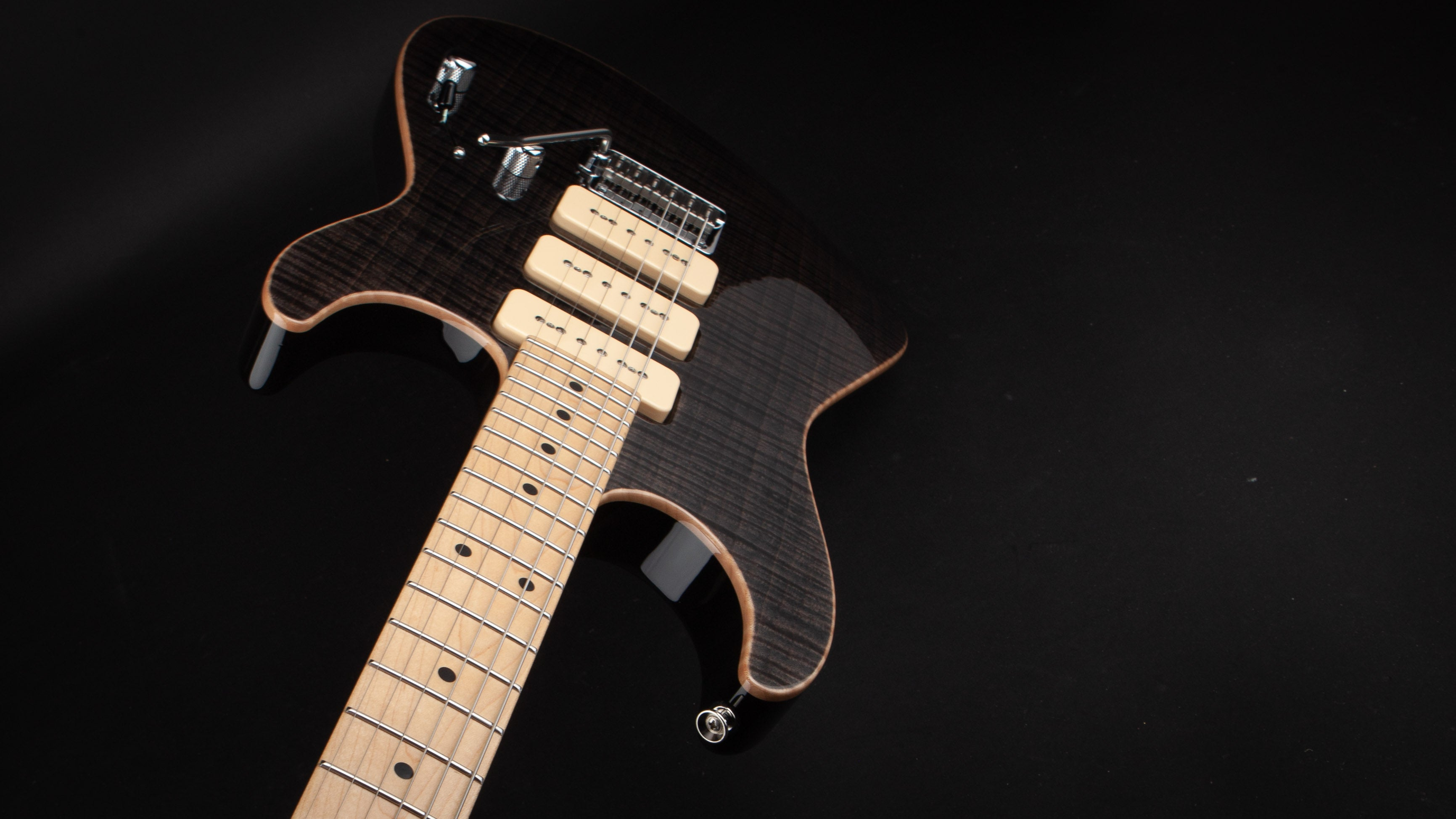 Tom Anderson: Drop Top Shorty Trans Black #04-15-11n