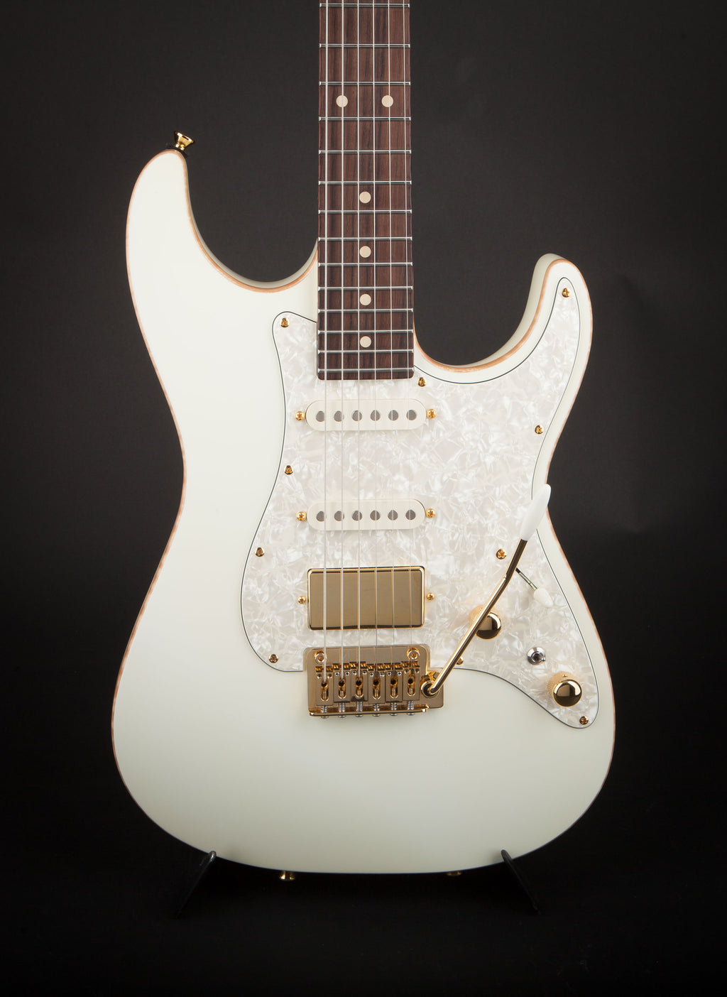 Tom Anderson: Hollow Drop Top Classic Arctic White #01-27-16P