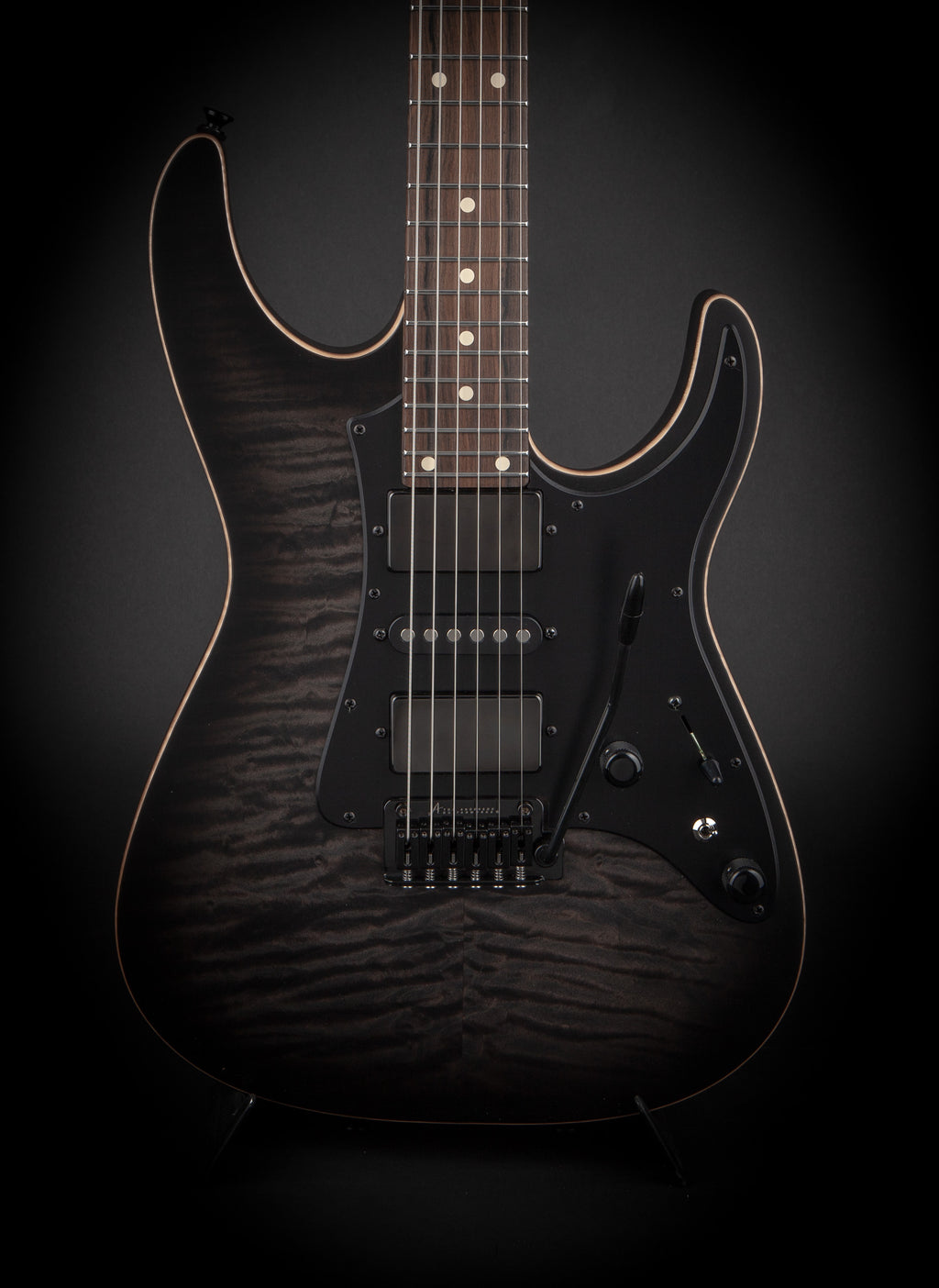 Tom Anderson: Guardian Angel Satin Transparent Black Burst #09-28-19A