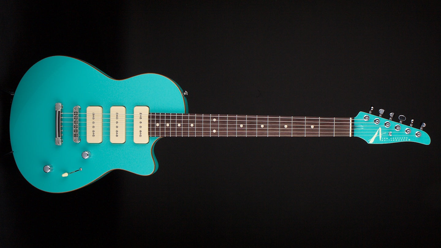 Tom Anderson Atom Seafoam Green with Binding #05-23-15P