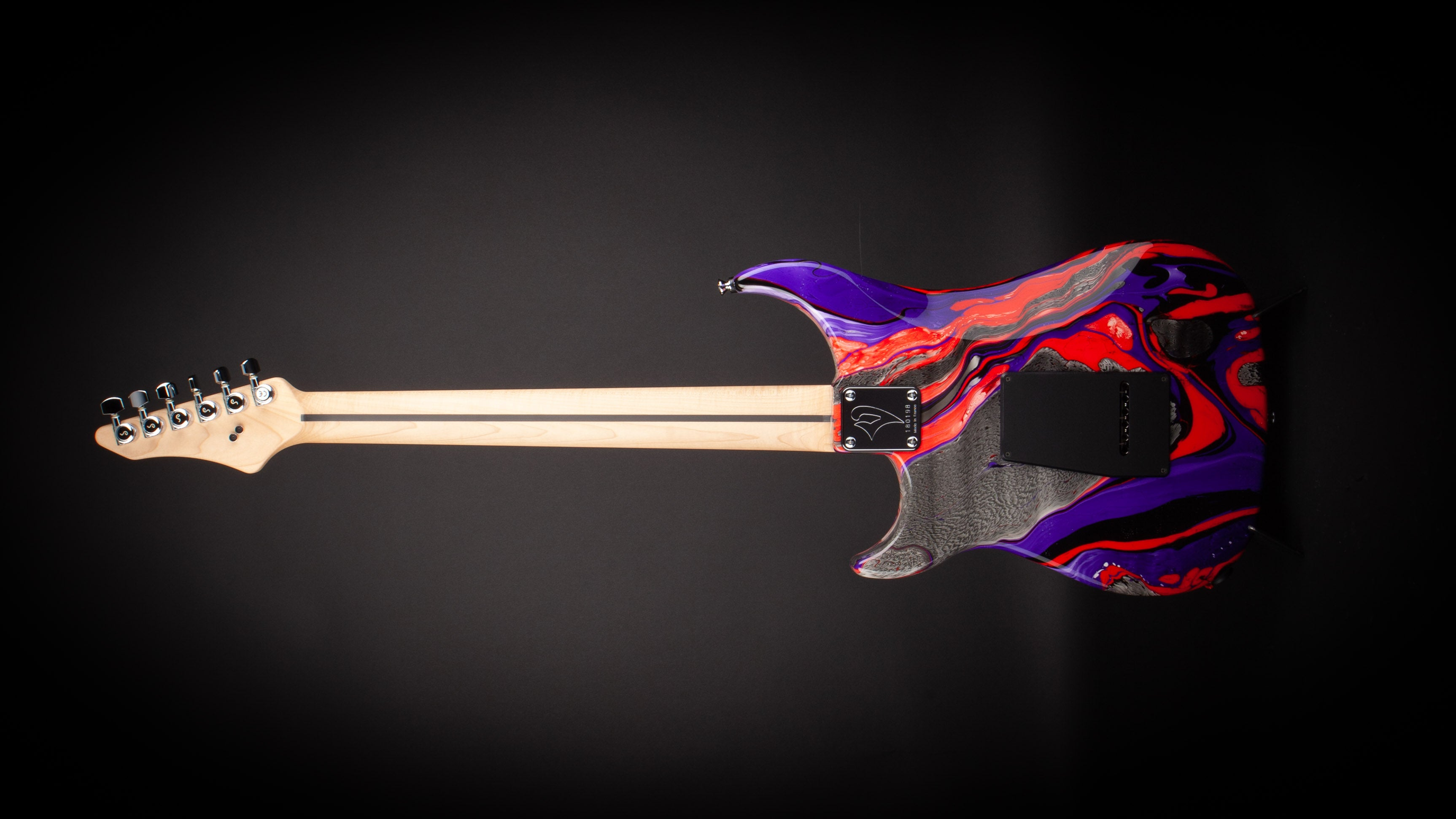 Vigier Guitars: Excalibur Original 'Rock Art' #180198