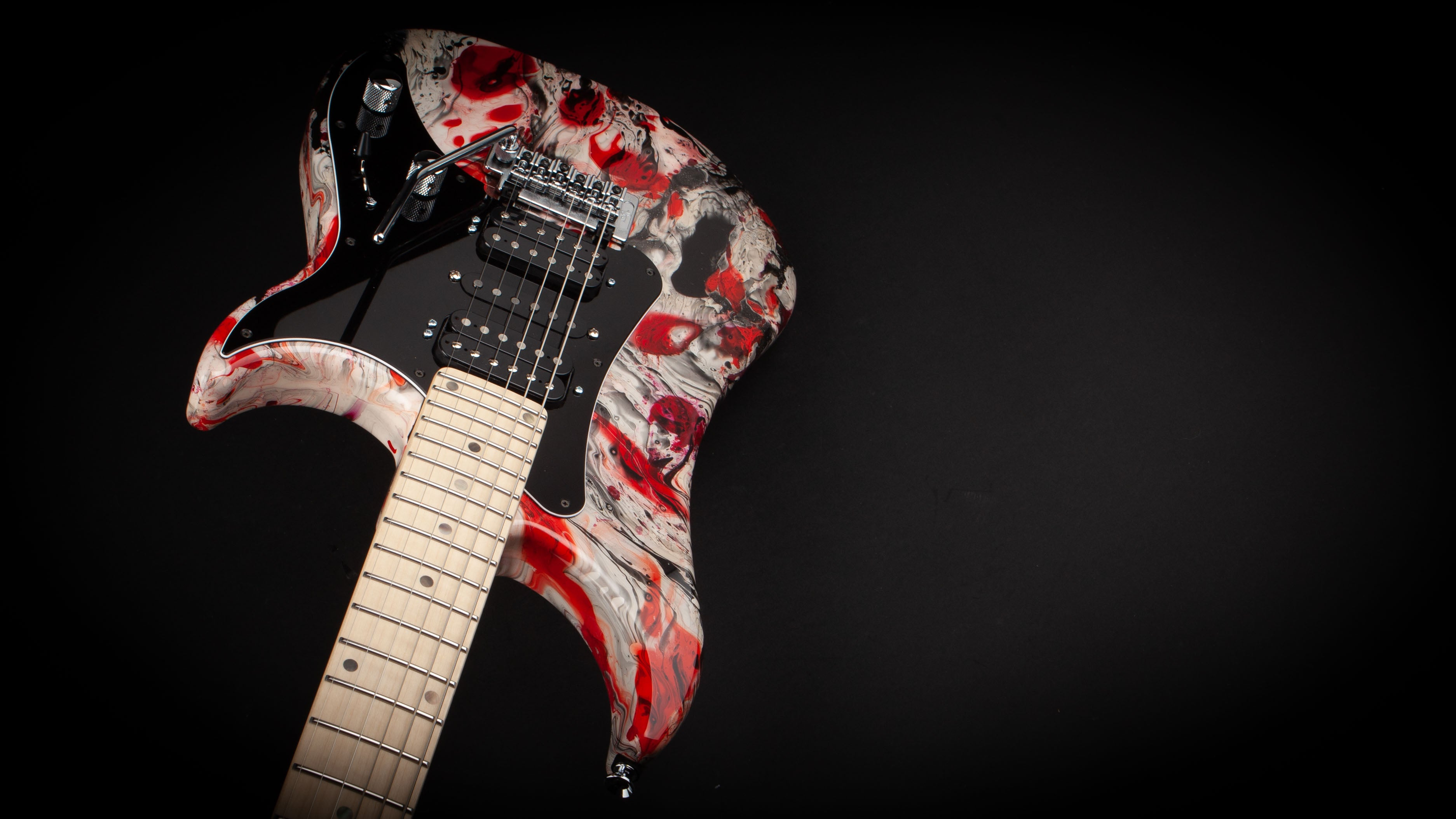 Vigier Guitars: Excalibur Original 'Rock Art' #180171