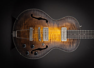 SOLD - Wide Sky Guitars: P125 Hand Rubbed Tobacco Burst