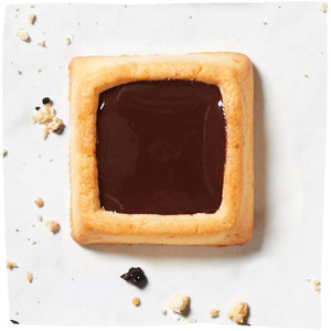 4 Cookie Squares - Dark Chocolate and a Pinch of Sea Salt (18 pack)