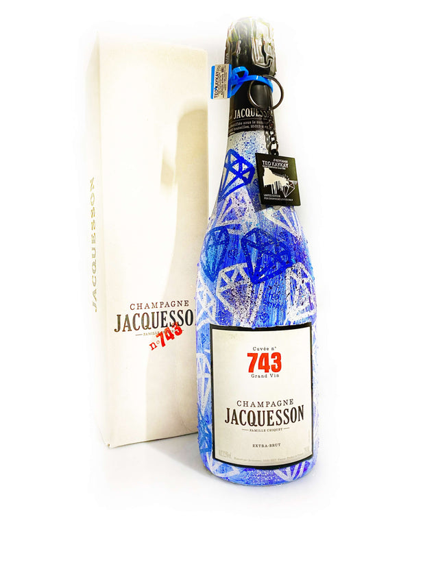 JACQUESSON 743 WIZARD COLOR WHITE TO ELECTRIC BLUE