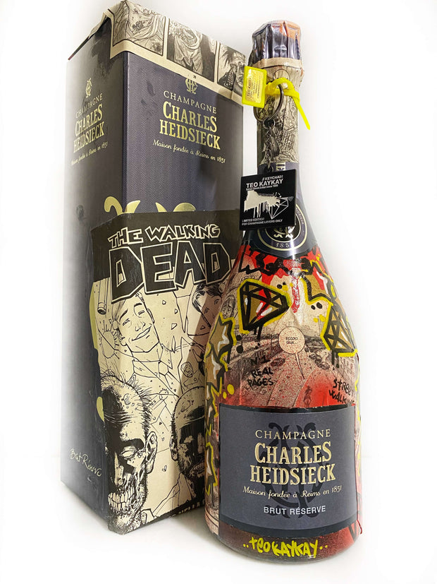 Charles Heidsieck Brut Reserve The Walking Dead N1