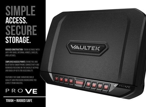 Vaultek PRO VE Series Full Size Safe (Essential Series) - www.marineonetactical.com