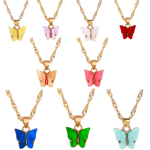 Fly Girl Necklaces
