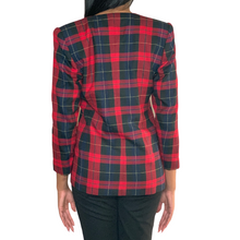 Load image into Gallery viewer, Hillary Plaid Blazer