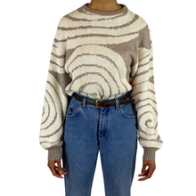 Load image into Gallery viewer, Vintage Swirl Sweater