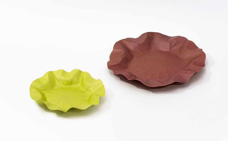 [KHJ Studio] Hanji Lotus Leaf Tray (S)