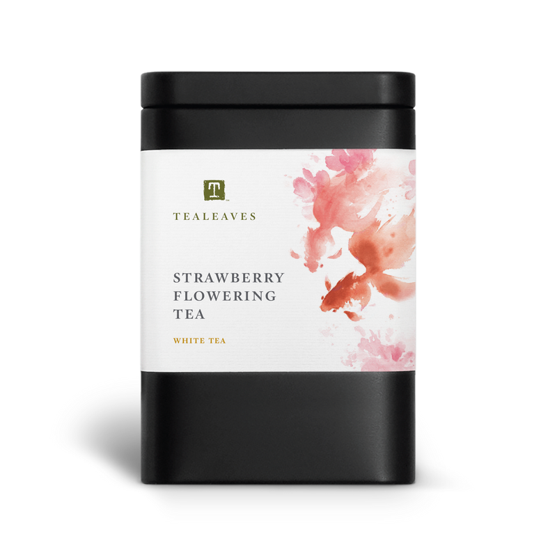 Strawberry Flowering Tea