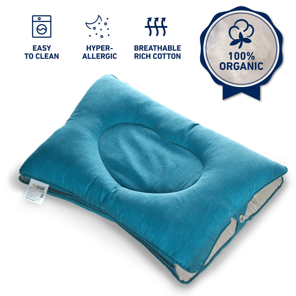 [Amazon] Dullo Washable Adjustable Ergonomic Cervical Neck Support Pillow