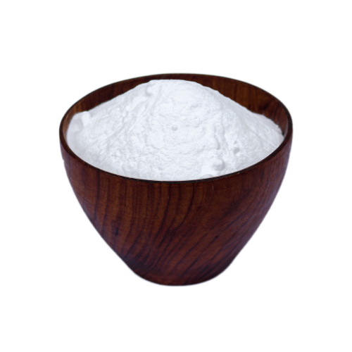 Natural Baking Soda in a teak bowl HAMA Organics