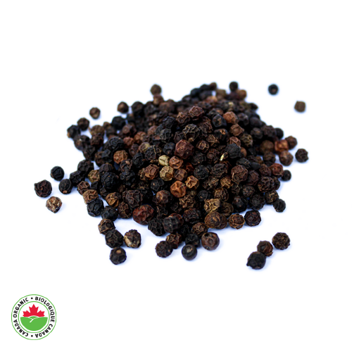 Organic Black Pepper Whole - HAMA Organics