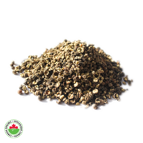 Organic Black Pepper Crushed - HAMA Organics