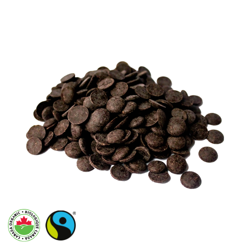 Organic Fair Trade Large Chocolate Chips (71% Cocoa) - HAMA Organics