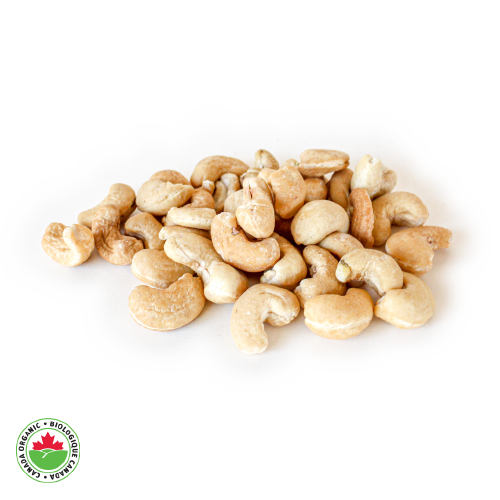 Organic Raw Whole Cashews