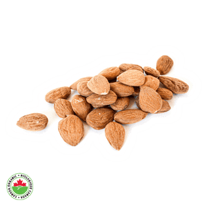 Organic Raw European Guara Almonds - HAMA Organics