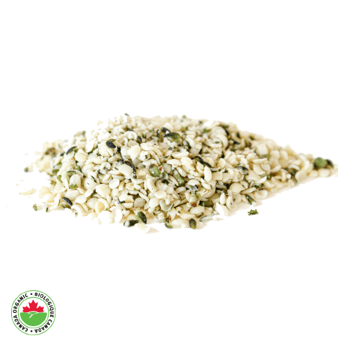 Organic Raw Hemp Heart Seeds - HAMA Organics