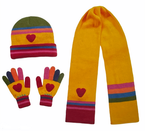 Kids Whimsical Hat Gloves and Scarfs