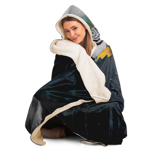 Parrot Fairy Hooded Blanket
