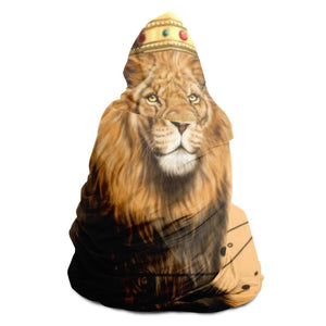 LION POWER Hooded Blanket