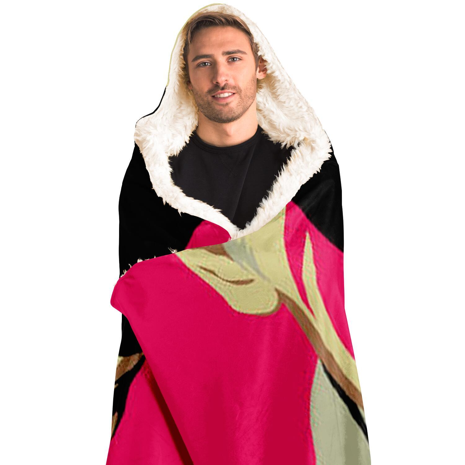 Fashion Hooded Blanket