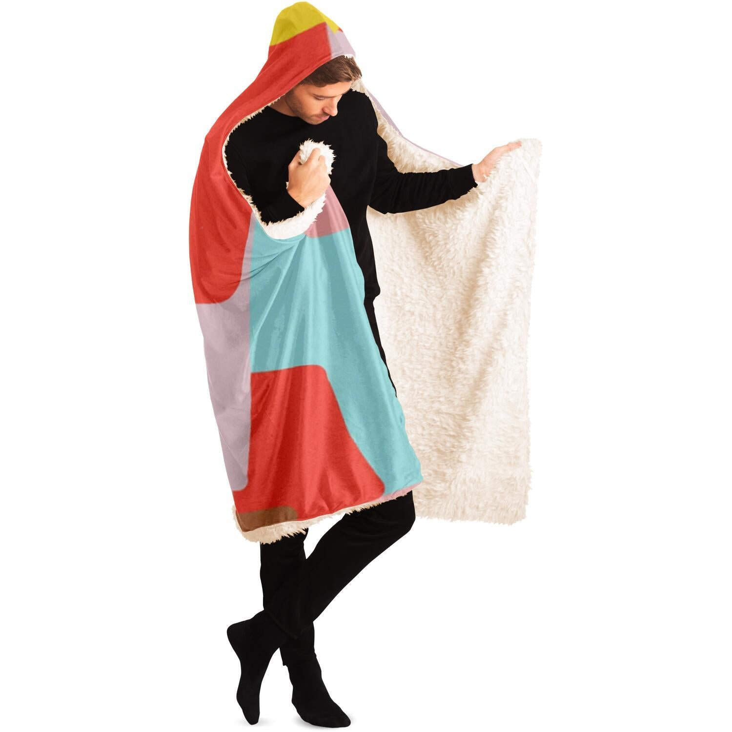 Windows of Possibility Kid's sweater Hooded Blanket