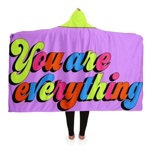 Fleece Hooded Blanket