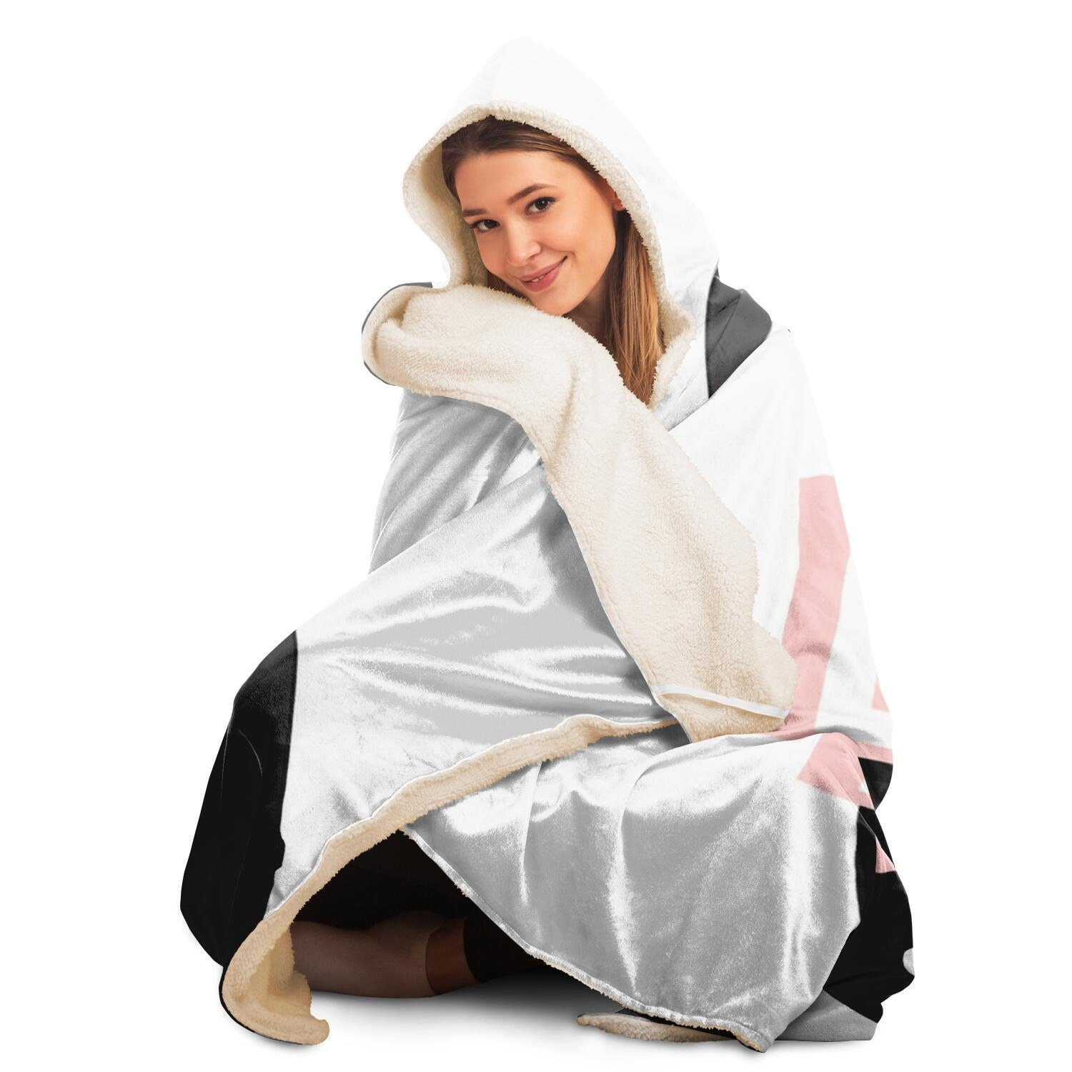 Lips Hooded Blanket