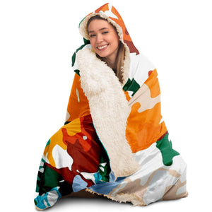 Isadora Poster  Hooded Blanket
