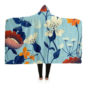 Garden Hooded Blanket