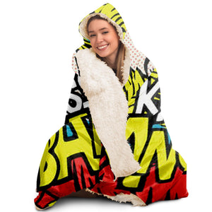 Find What You Love Hooded Blanket