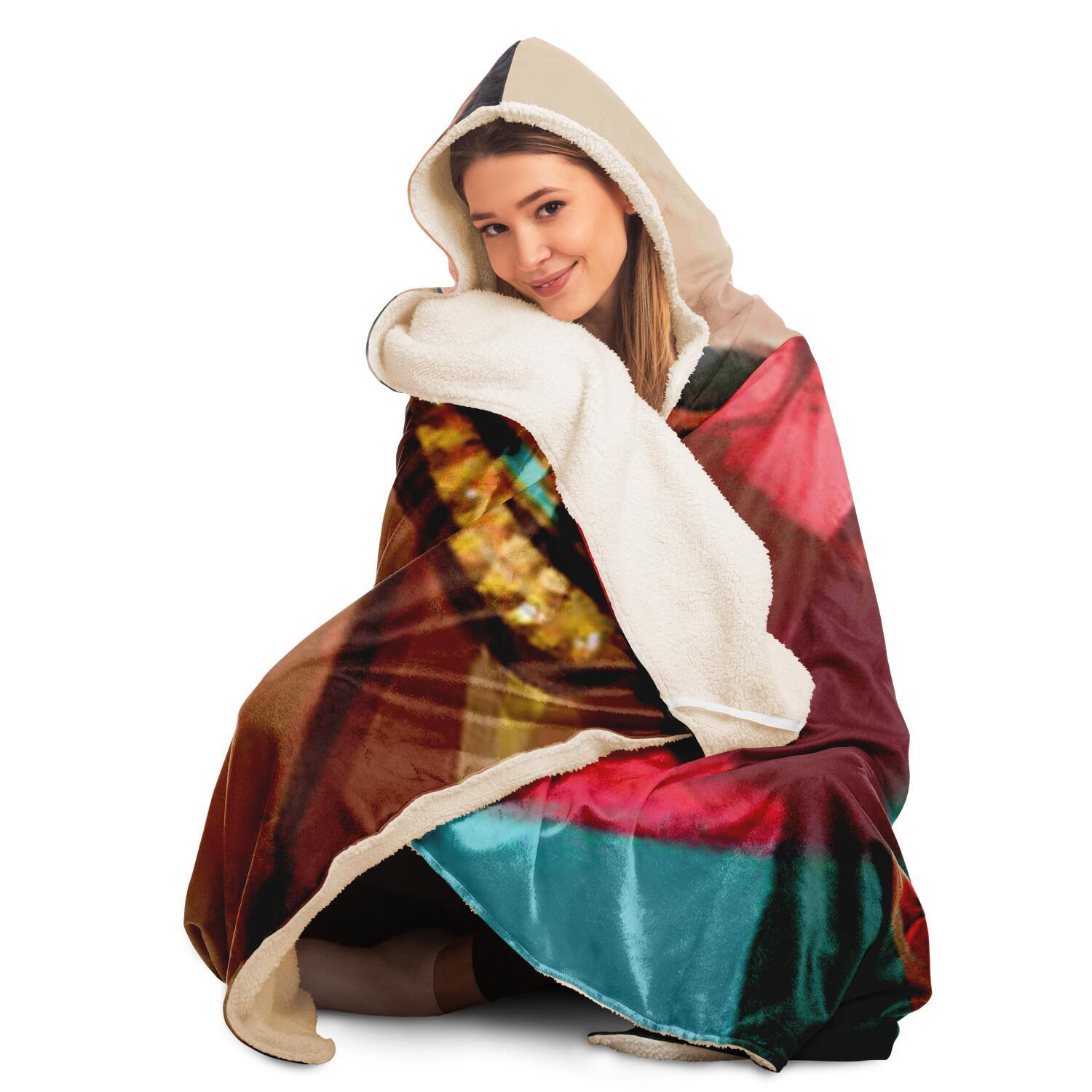 Mexico Hooded Blanket