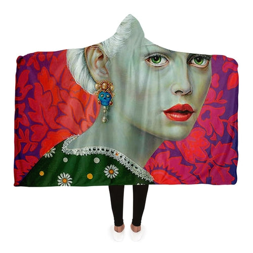 Melancholy Hooded Blanket