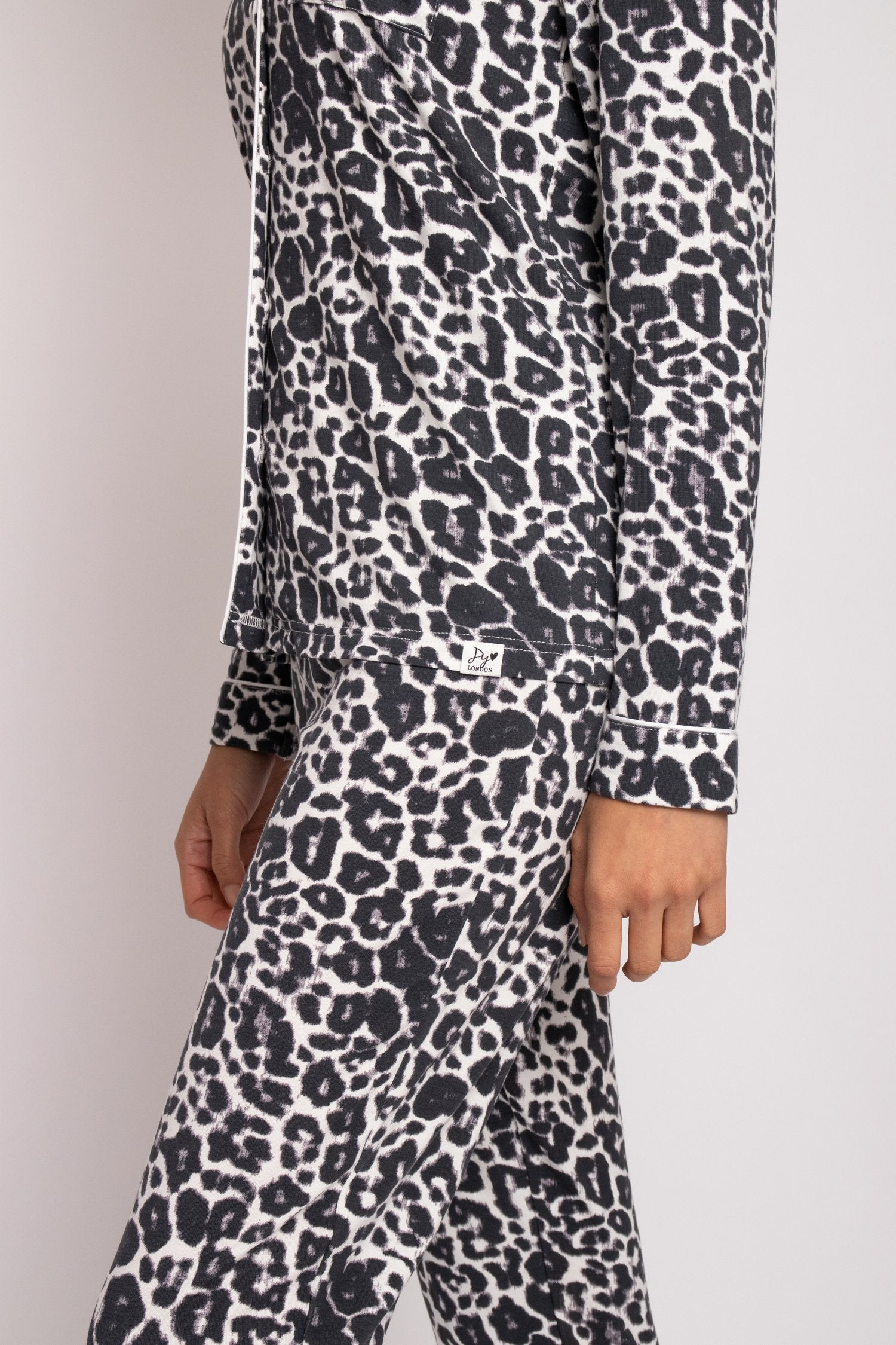 Bamboo Pajama Set in Luxe Leopard