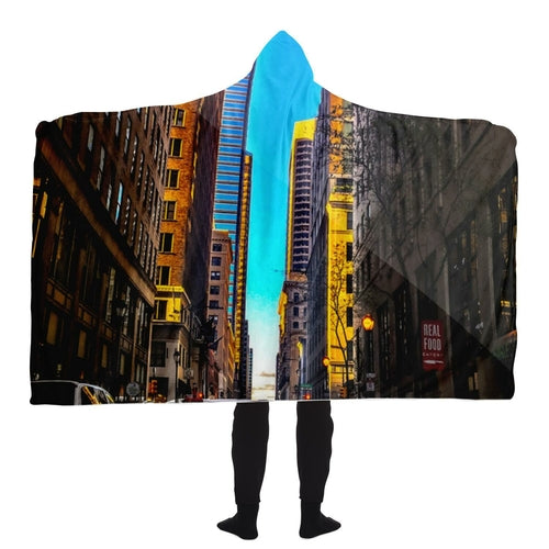 Philadelphia Hooded Blanket