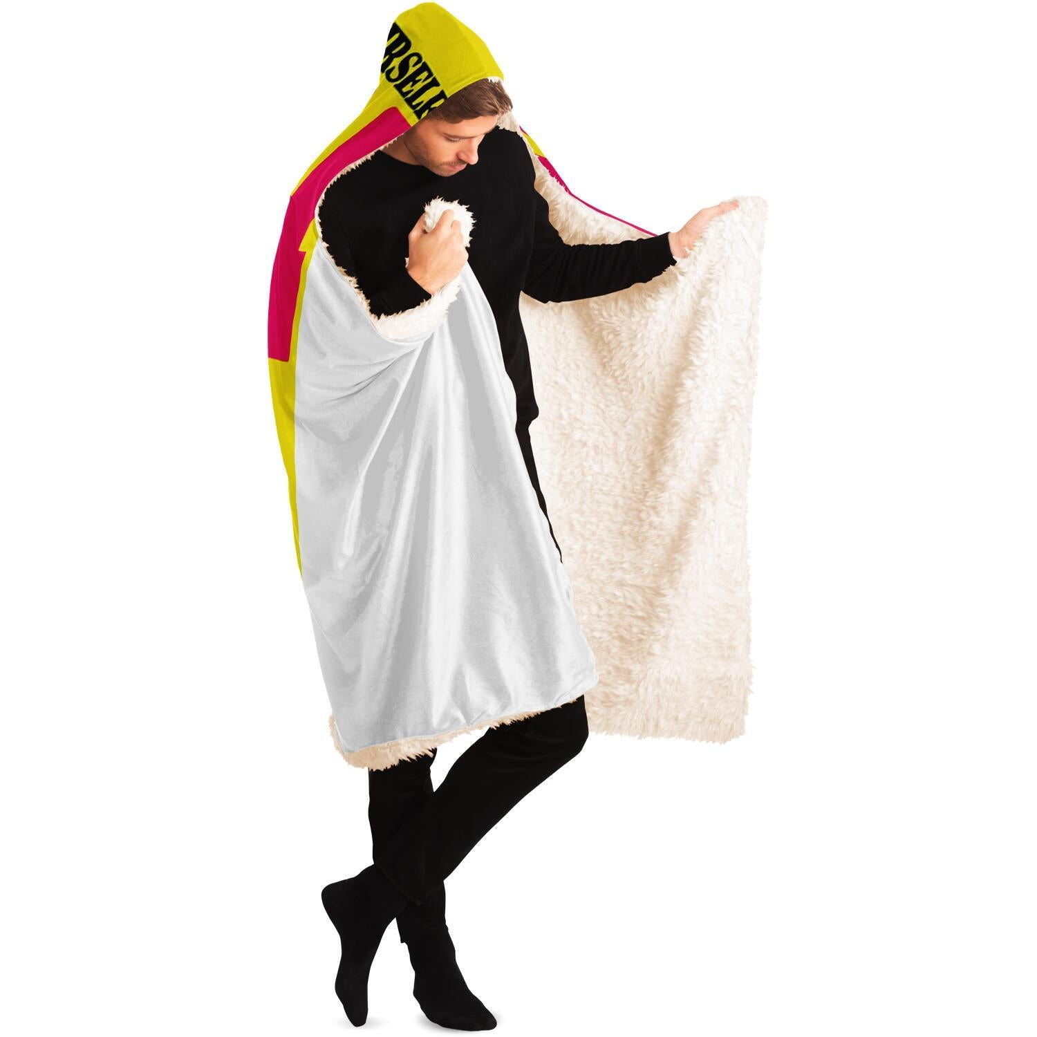 The Amazon Queen Hooded Blanket