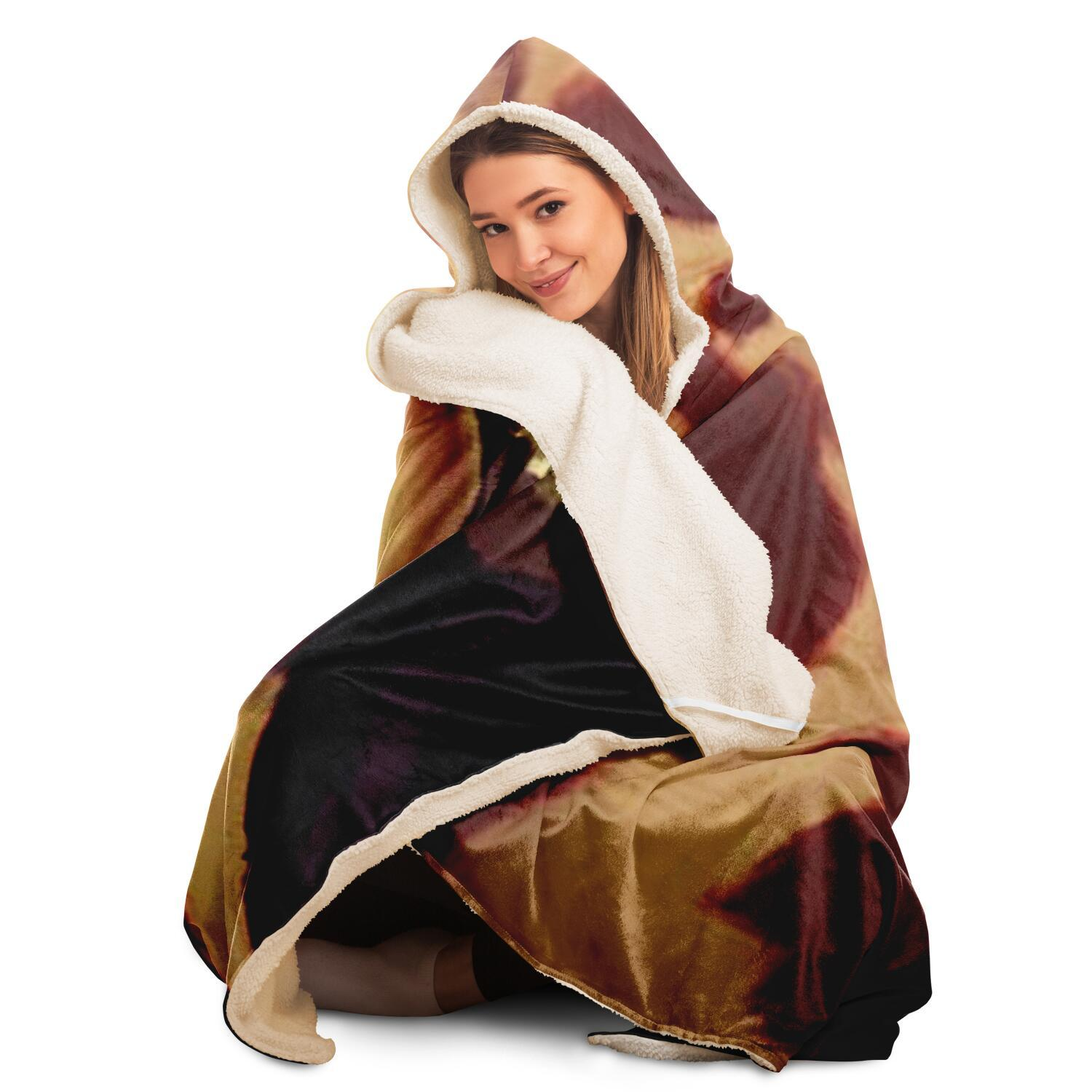 Marilyn Gloves Hooded Blanket