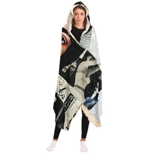 Fashion For Fiction Hooded Blanket