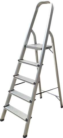 Hyfive Aluminium 5 Step Ladder Lightweight