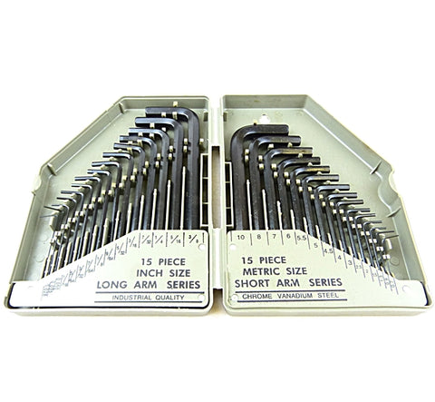 Hex Key Set 30pc