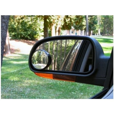 2pc Driving Blind Spot Mirrors Self Adhesive