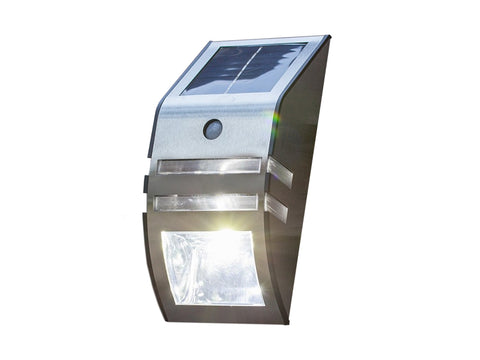 Solar LED Garden Security Light With Motion Sensor