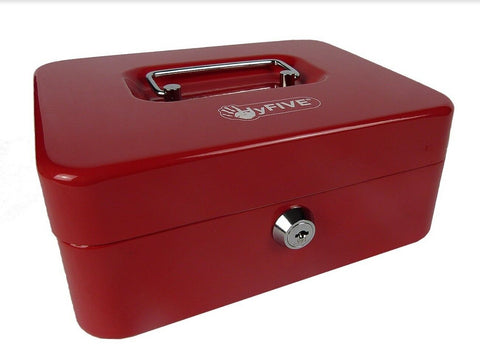 "8"" Cash Box (Red/Blue/Black)"