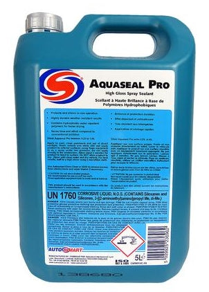 Autosmart Aquaseal Pro Wax Sealant Spray- 5 Litre